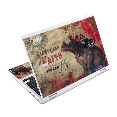 Acer Chromebook R11 Skin - Leap Of Faith