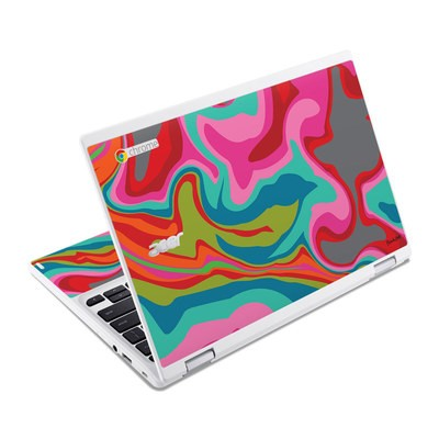 Acer Chromebook R11 Skin - Marble Bright