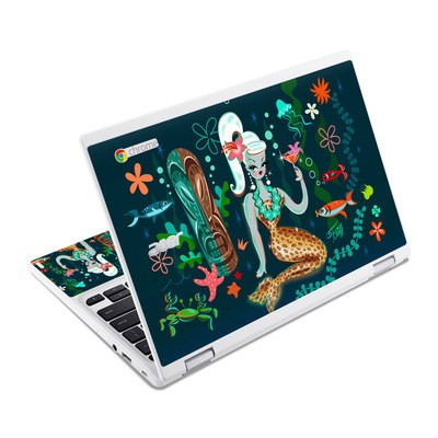 Acer Chromebook R11 Skin - Martini Mermaid