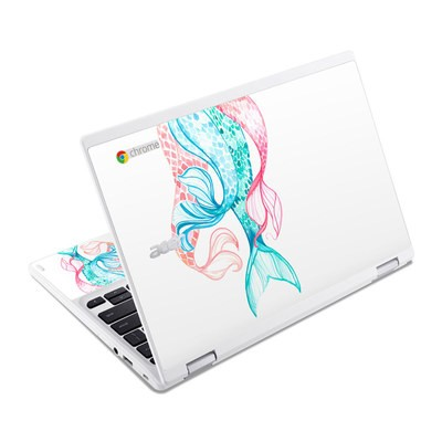 Acer Chromebook R11 Skin - Mermaid Tails