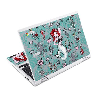 Acer Chromebook R11 Skin - Molly Mermaid