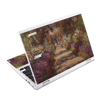 Acer Chromebook R11 Skin - Monet - Garden at Giverny