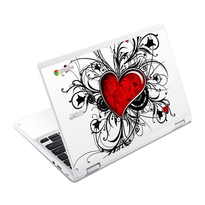 Acer Chromebook R11 Skin - My Heart