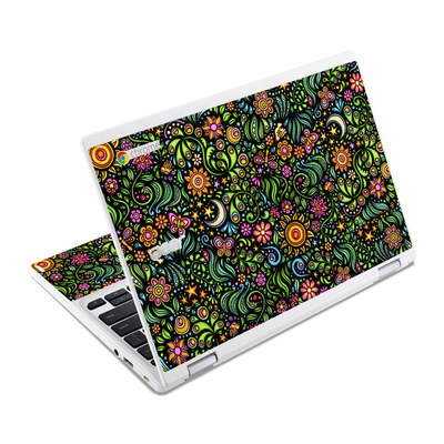 Acer Chromebook R11 Skin - Nature Ditzy