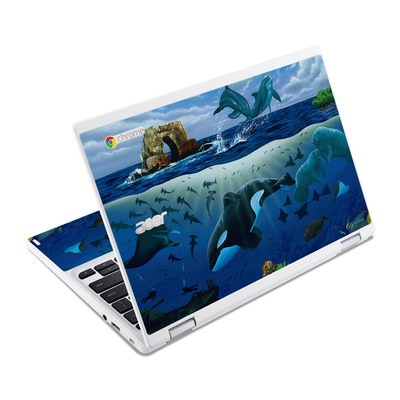 Acer Chromebook R11 Skin - Oceans For Youth