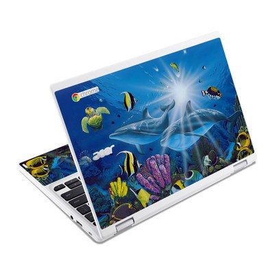 Acer Chromebook R11 Skin - Ocean Friends