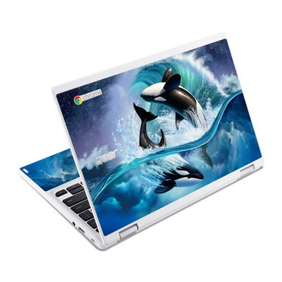 Acer Chromebook R11 Skin - Orca Wave