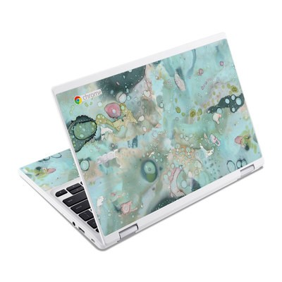 Acer Chromebook R11 Skin - Organic In Blue