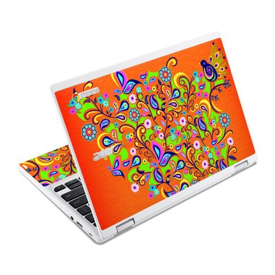 Acer Chromebook R11 Skin - Orange Squirt