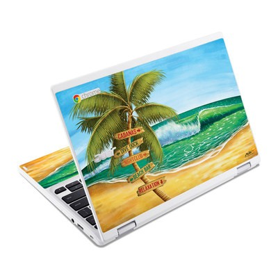 Acer Chromebook R11 Skin - Palm Signs