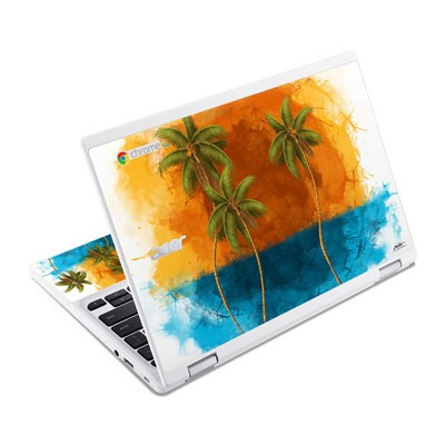 Acer Chromebook R11 Skin - Palm Trio