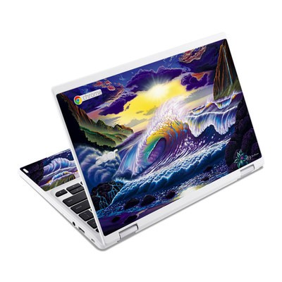 Acer Chromebook R11 Skin - Passion Fin