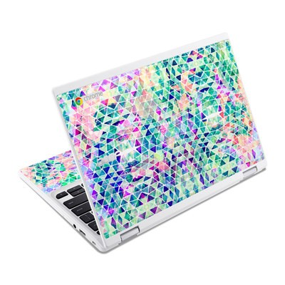 Acer Chromebook R11 Skin - Pastel Triangle