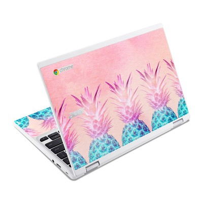 Acer Chromebook R11 Skin - Pineapple Farm
