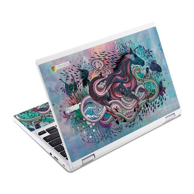 Acer Chromebook R11 Skin - Poetry in Motion