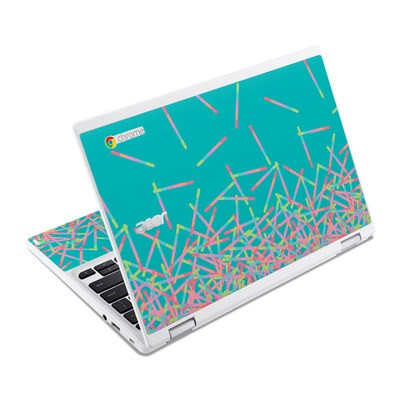 Acer Chromebook R11 Skin - Pop Rocks Wands