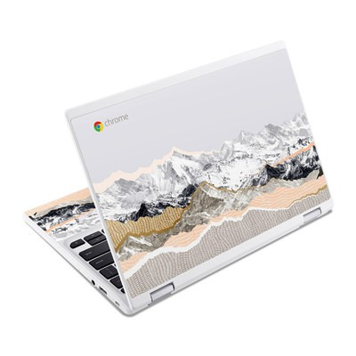 Acer Chromebook R11 Skin - Pastel Mountains
