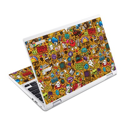 Acer Chromebook R11 Skin - Psychedelic
