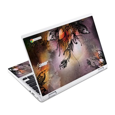Acer Chromebook R11 Skin - Purple Rain