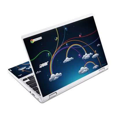 Acer Chromebook R11 Skin - Rainbows
