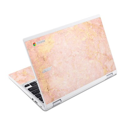 Acer Chromebook R11 Skin - Rose Gold Marble