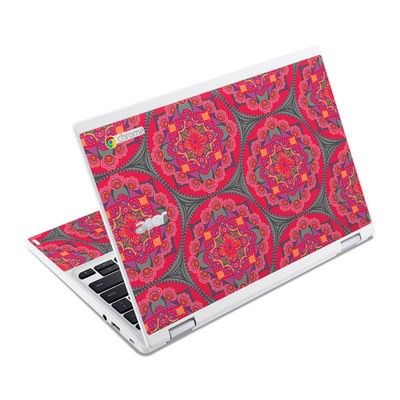 Acer Chromebook R11 Skin - Ruby Salon