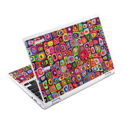 Acer Chromebook R11 Skin - Square Dancing