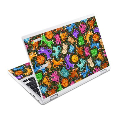 Acer Chromebook R11 Skin - Sew Catty