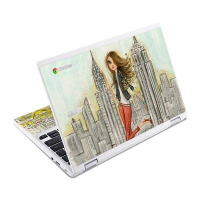 Acer Chromebook R11 Skin - The Sights New York