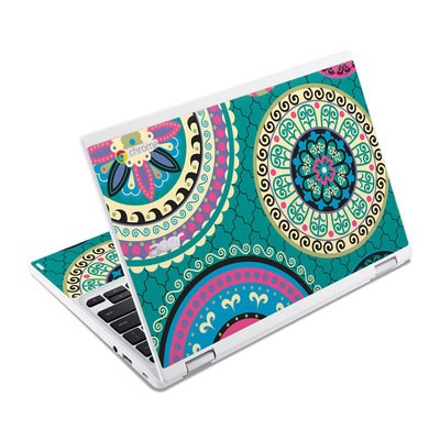 Acer Chromebook R11 Skin - Silk Road