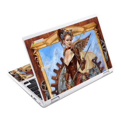 Acer Chromebook R11 Skin - Steam Jenny
