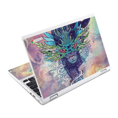 Acer Chromebook R11 Skin - Spectral Cat