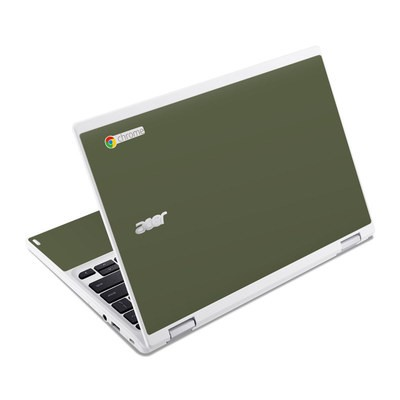 Acer Chromebook R11 Skin - Solid State Olive Drab