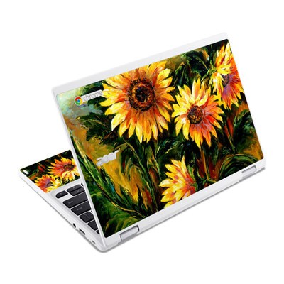 Acer Chromebook R11 Skin - Sunflower Sunshine