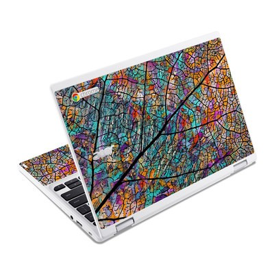 Acer Chromebook R11 Skin - Stained Aspen