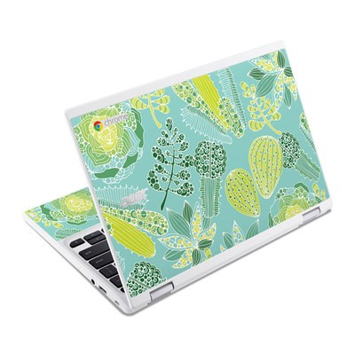 Acer Chromebook R11 Skin - Succulents
