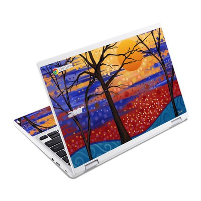 Acer Chromebook R11 Skin - Sunset Moon
