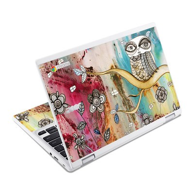 Acer Chromebook R11 Skin - Surreal Owl