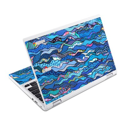 Acer Chromebook R11 Skin - The Blues