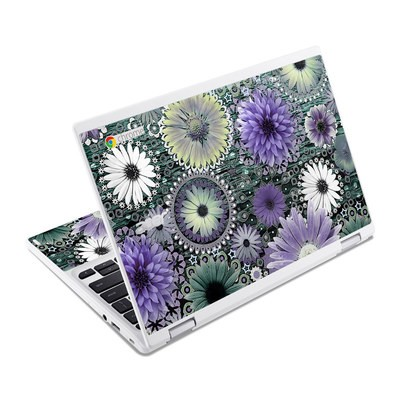 Acer Chromebook R11 Skin - Tidal Bloom