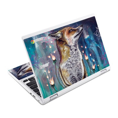 Acer Chromebook R11 Skin - There is a Light