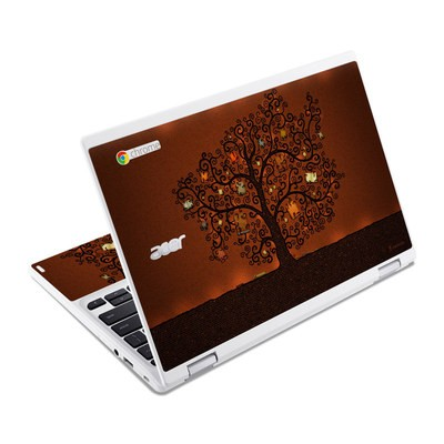 Acer Chromebook R11 Skin - Tree Of Books