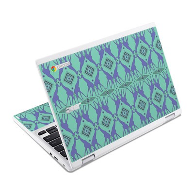 Acer Chromebook R11 Skin - Tower of Giraffes