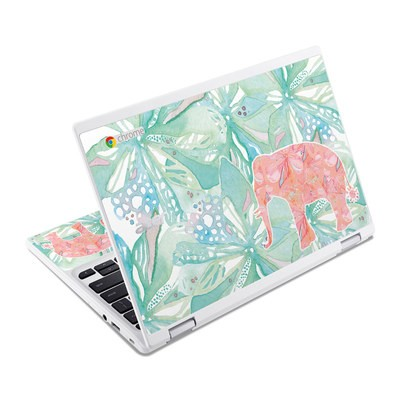 Acer Chromebook R11 Skin - Tropical Elephant