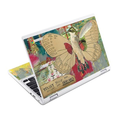 Acer Chromebook R11 Skin - Trust Your Dreams