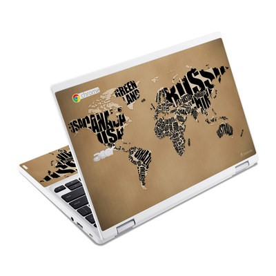 Acer Chromebook R11 Skin - Type Map