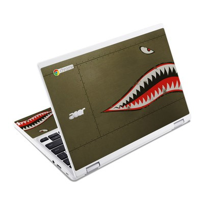 Acer Chromebook R11 Skin - USAF Shark