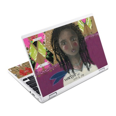 Acer Chromebook R11 Skin - Warrior of Love