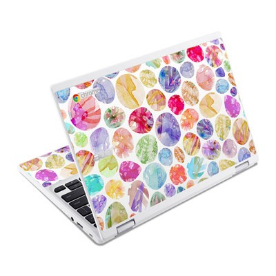 Acer Chromebook R11 Skin - Watercolor Dots