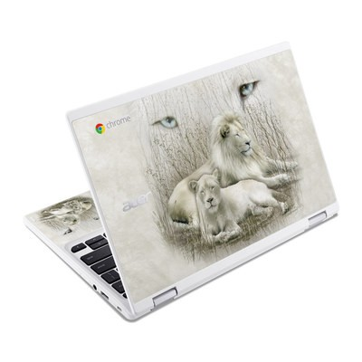 Acer Chromebook R11 Skin - White Lion